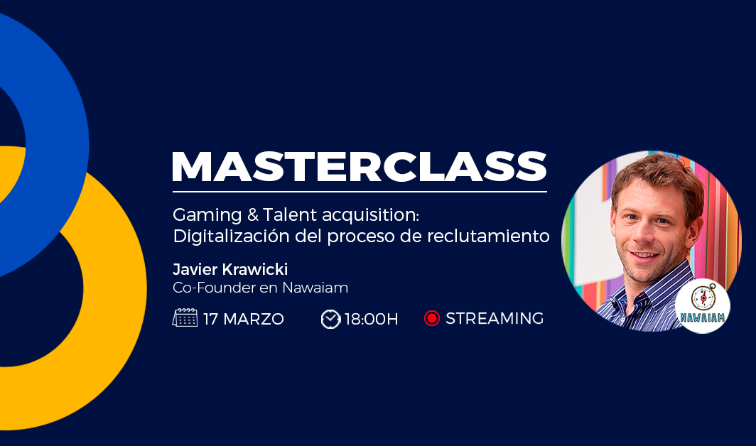 masterclass sobre gamificación & talent acquisition